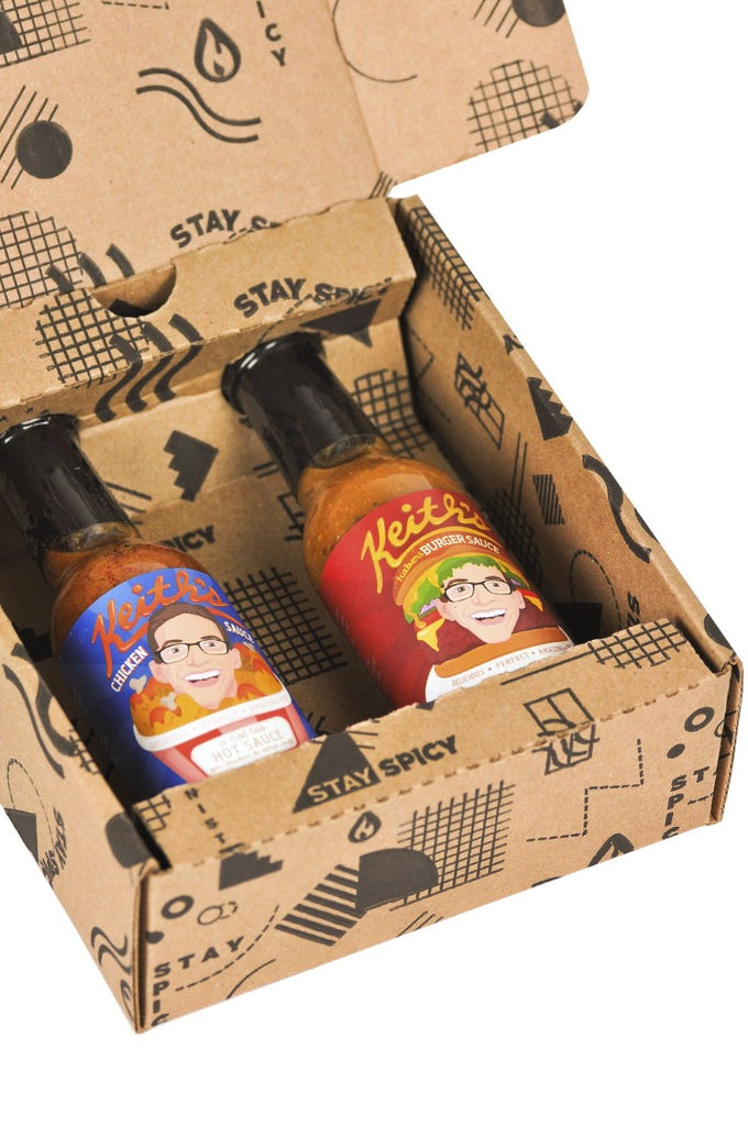 Keith's Hot Sauce Duo