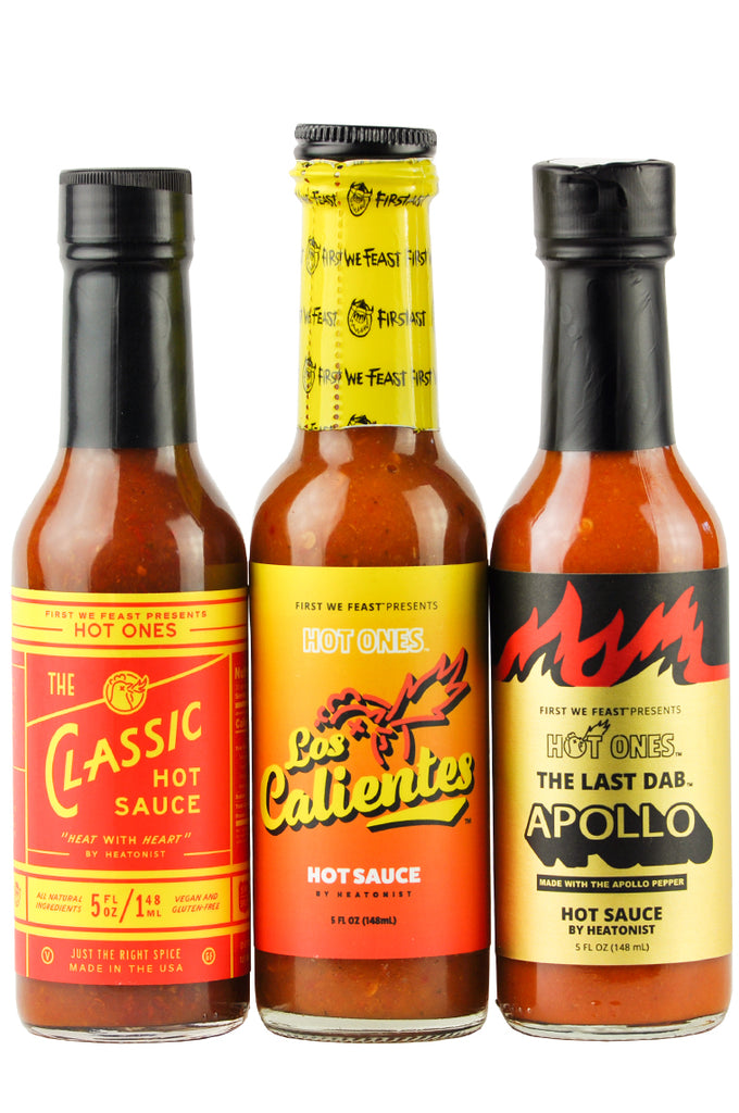 Season 14 Hot Ones Trio