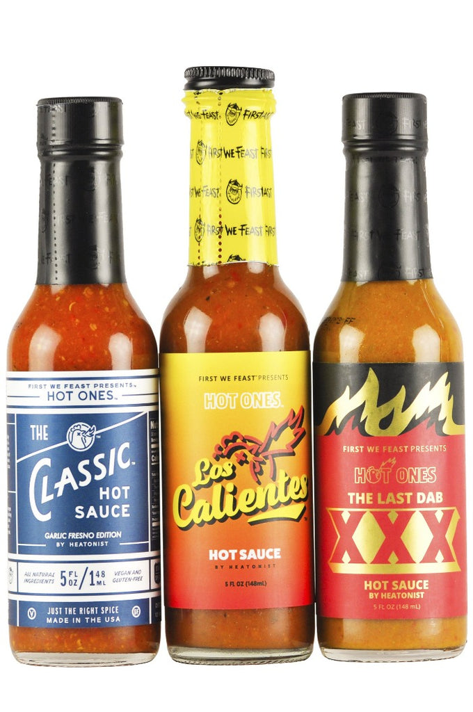 Season 12 Hot Ones Trio Pack