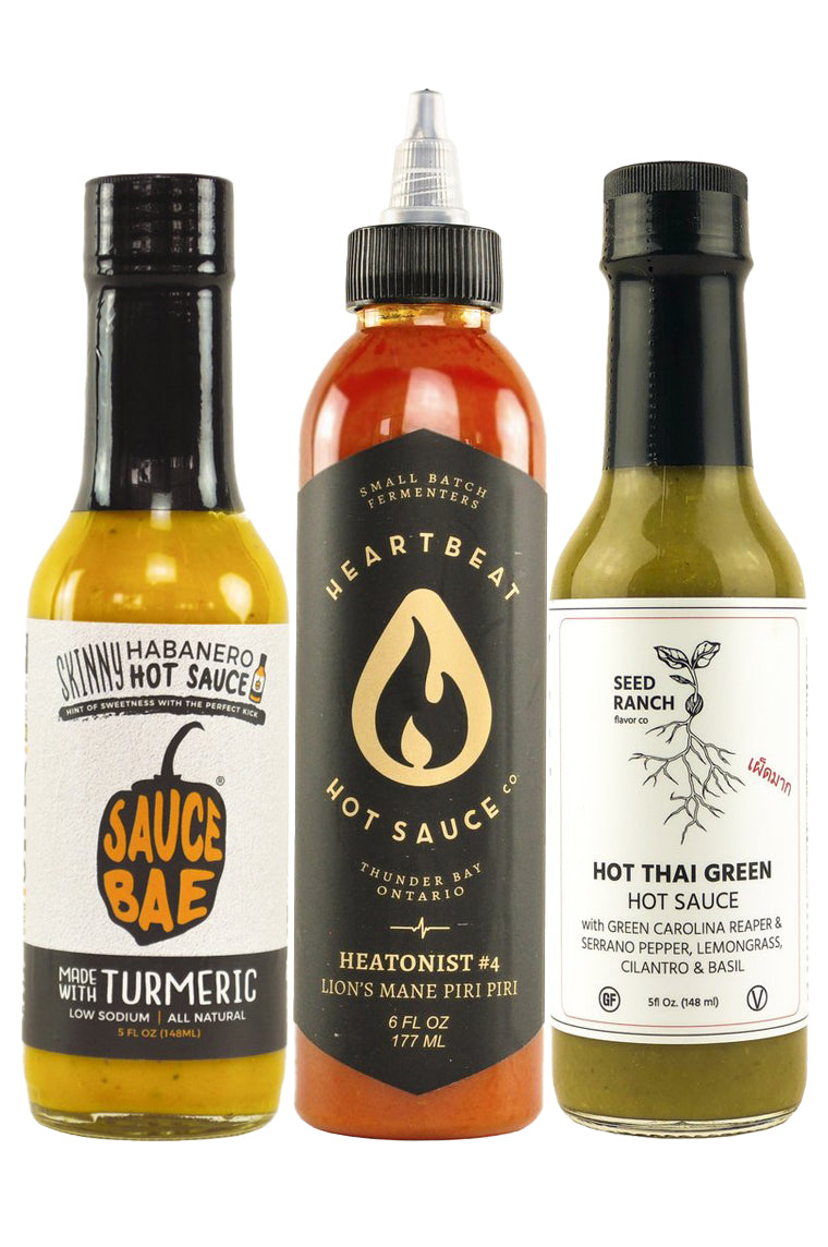 Hot Sauce Health Pack