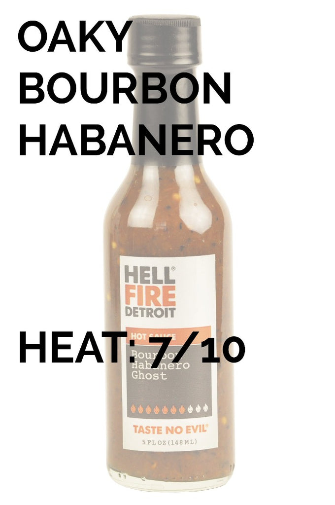 Hell Fire Detroit | Bourbon Habanero Ghost