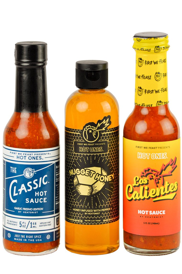 First We Feast Presents Hot Ones Happy Pack