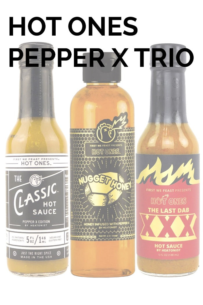 Hot Ones | Pepper X Trio
