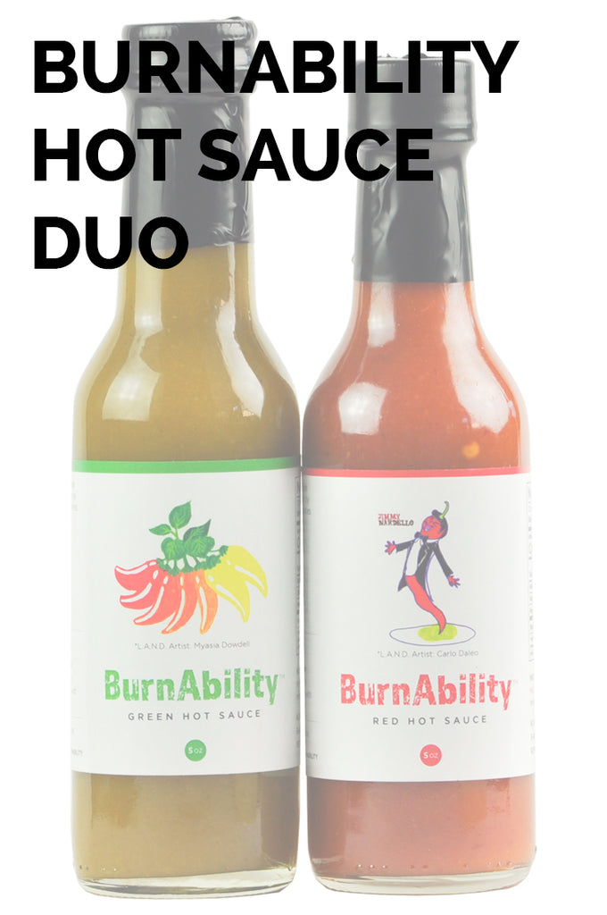 BurnAbility Hot Sauce Duo