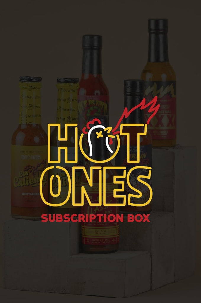 Hot Ones Box - Monthly (Auto-Renew)