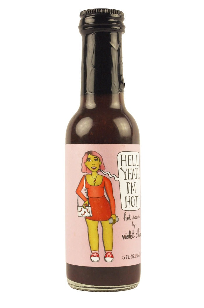 Butterfly Bakery x Violet Clair | Hell Yeah, I'm Hot Sauce