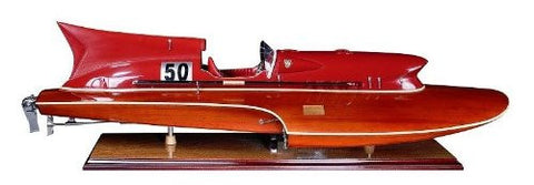 Authentic Model Collectors famous In lot of Hollywood Movies Thunderboat Jguar XK120 Speed Boat
