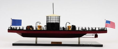 Old Modern Handicrafts USS Monitor Collectible