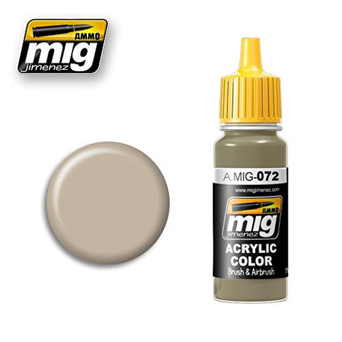 Ammo of Mig Jimenez Acrylic Color DUST 17ml #0072