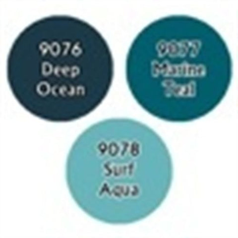 Paint Ocean Blues Triad RPR 09726 by Reaper