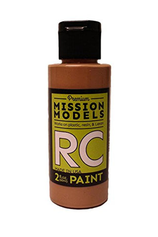 Mission Models Automobile Mmrc-009 Water-Based RC Paint 2 Oz Bottle Beige