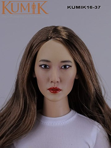 1/6 Artcreator_BM zy-kumik female head 16-37