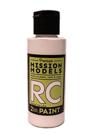 Mission Models Automobile Mmrc-001 Water-Based RC Paint 2 Oz Bottle White