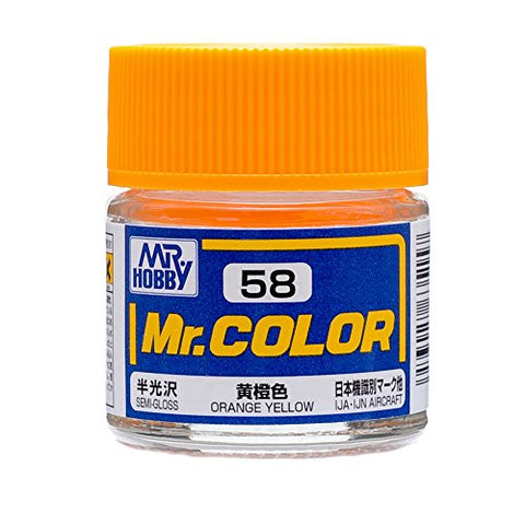 Mr. Color 72 Orange Yellow Semi Gloss 10ml