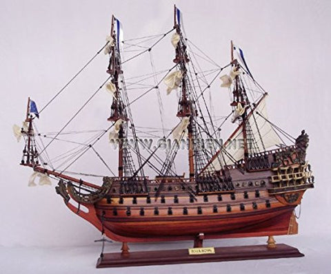 Gia Nhien TS0011W-80 Soleil Royal Wooden Model Tall Ship
