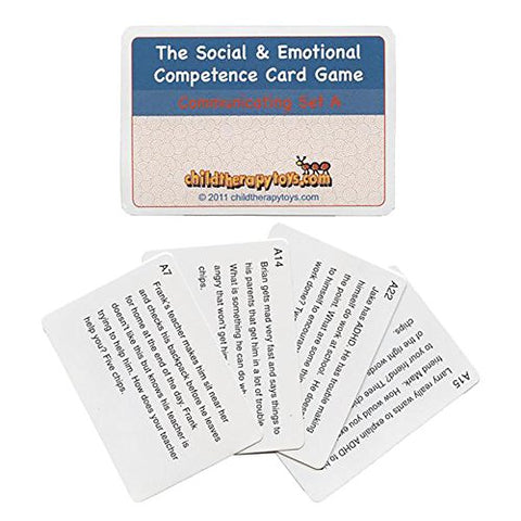 ADHD Cards for The Social and Emotional Competence Game