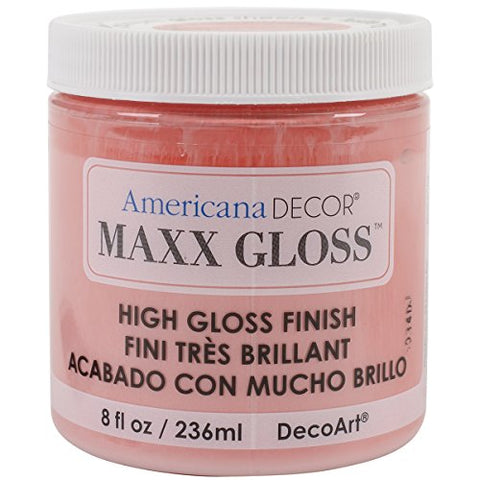 Maxx Gloss Acrylic Paint 8oz-Juicy Melon