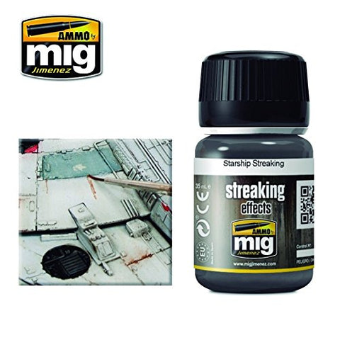 Ammo of Mig Jimenez Starship Streaking Enamel Effect 35ml Jar #1209