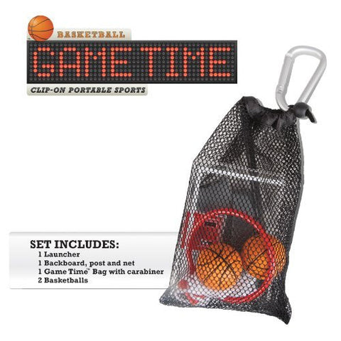 GameTime Basketball Play-Anywhere Miniature Sports Basketball Game