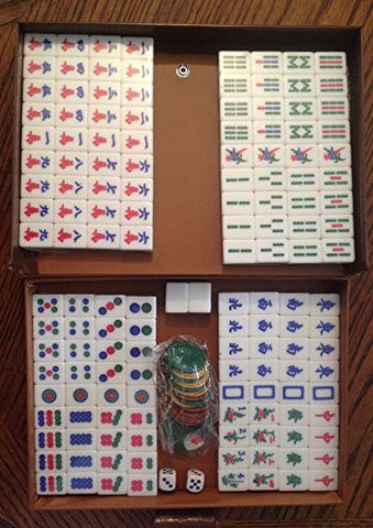 Traditional Chinese Version Mahjong Game Set