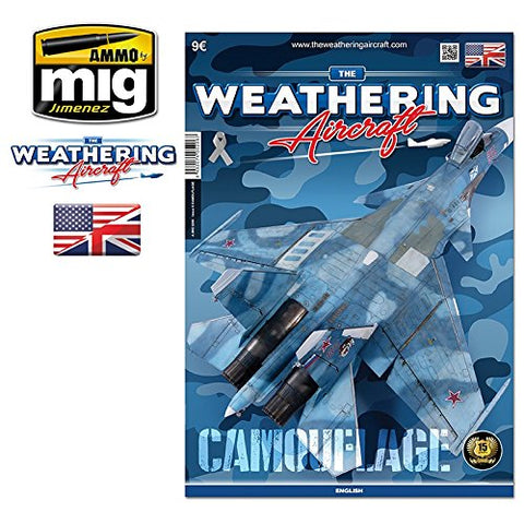 Ammo of Mig TWA The Weathering Magazine Aircraft Issue.6 CAMOUFLAGE English #5206