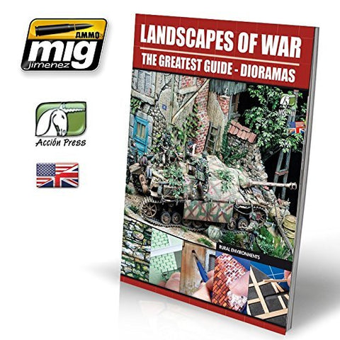 LANDSCAPES OF WAR: THE GREATEST GUIDE - DIORAMAS VOL. 3 Rural Enviroments (English) #EURO0012