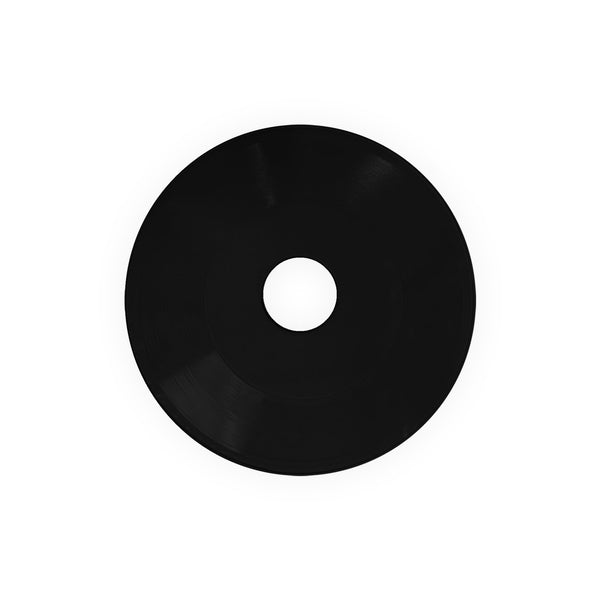 "7"" Embossing Circles - Black (Large Hole)"