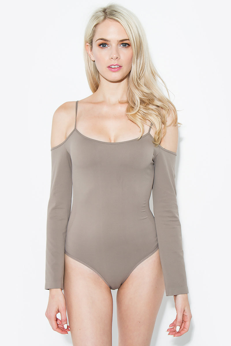 Cold Shoulder Bodysuit