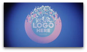 Bubbling Logo Video