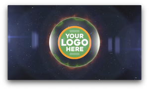 Black Hole Logo Video
