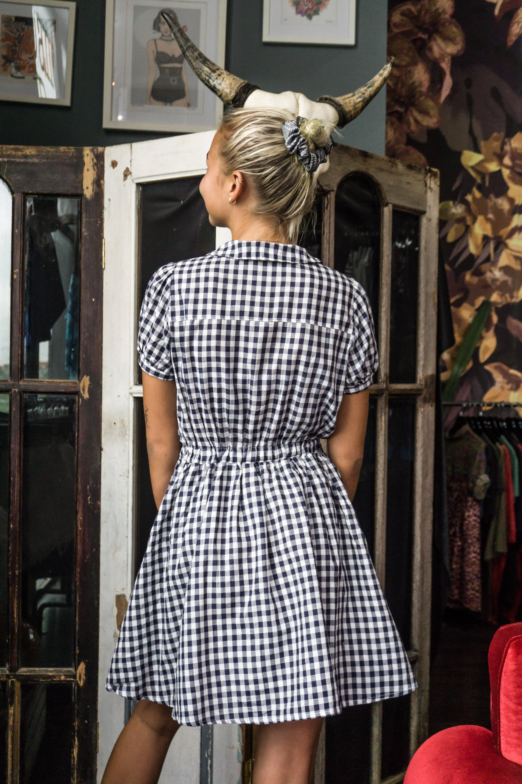 Sorridere Plaid Dress