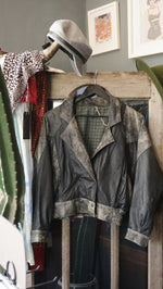 Jane Doe Exclusive Leather Jacket w/ Checkered Lining