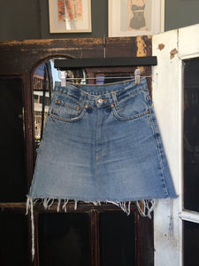 Levi's Skirt - Blue Denim