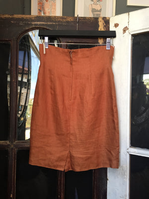 T-Day Brown Skirt