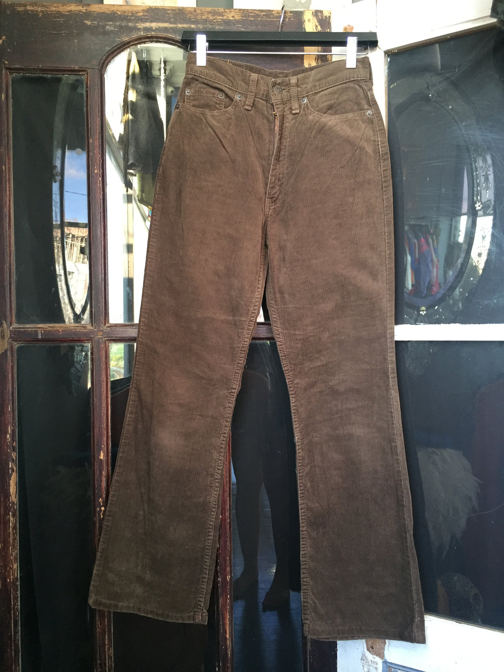 Brown Levi's Corduroy W517