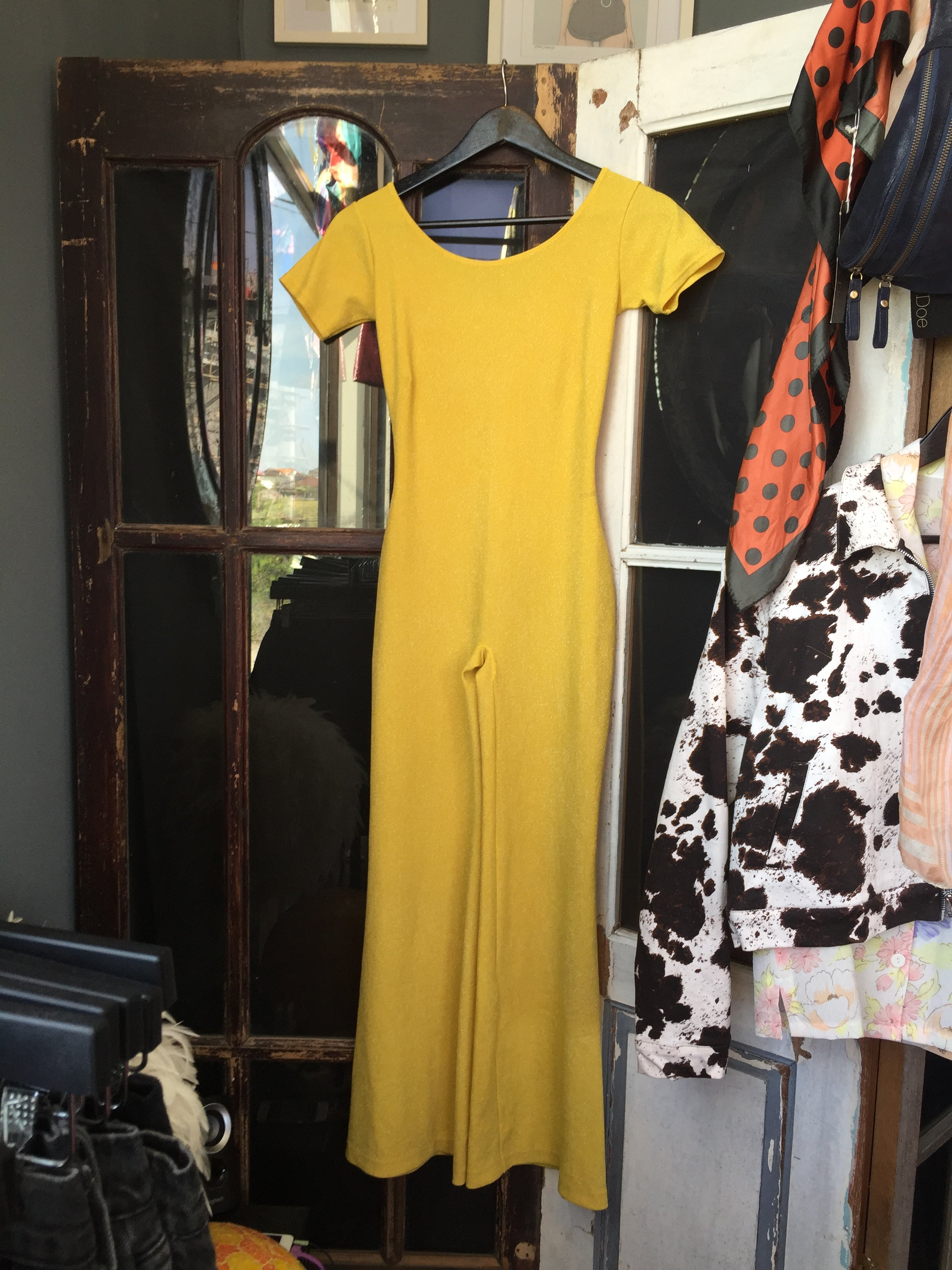 Chacott Yellow Shimmer Jumpsuit