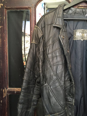 Florence Black Leather Jacket