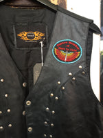 Bikers For Christ Vest - Leather