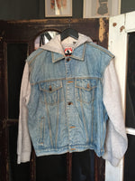 Mickey Denim Jacket with Hoodie Jack 052