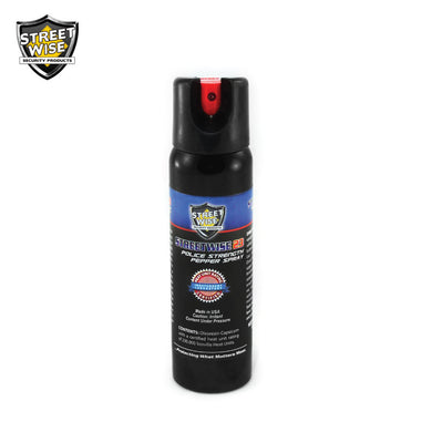 Police Strength Streetwise 23 Pepper Spray 4 oz Twist Lock - prepare-and-protect-personal-protection-products