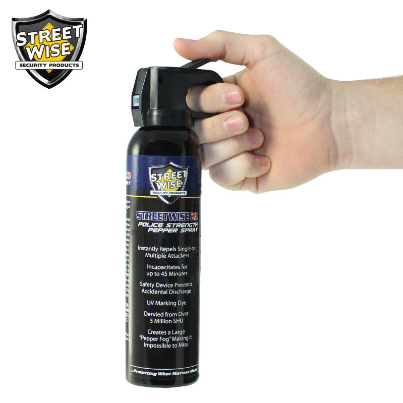 Police Strength Streetwise 23 Pepper Spray 9 oz FIRE MASTER - prepare-and-protect-personal-protection-products