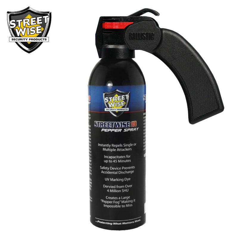Lab Certified Streetwise 18 Pepper Spray, 16 oz. - prepare-and-protect-personal-protection-products