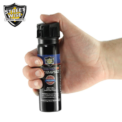 Police Strength Streetwise 23 Pepper Spray 3 oz Flip Top - prepare-and-protect-personal-protection-products