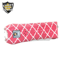Streetwise Ladies' Choice 21,000,000* Stun Gun Coral/White - prepare-and-protect-personal-protection-products