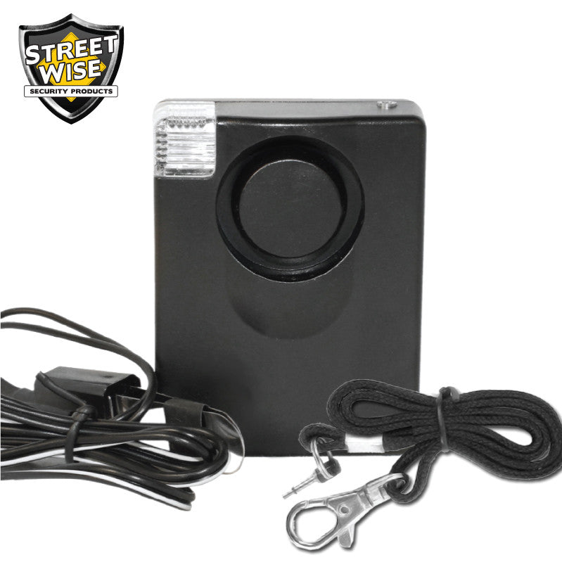 Streetwise Personal/Door Alarm w/ Light - prepare-and-protect-personal-protection-products