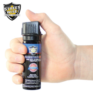 Police Strength Streetwise 23 3oz PEPPER FOAM - prepare-and-protect-personal-protection-products