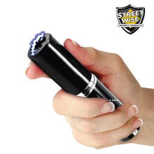 Streetwise Perfume Protector 17,000,000* Stun Gun Black - prepare-and-protect-personal-protection-products