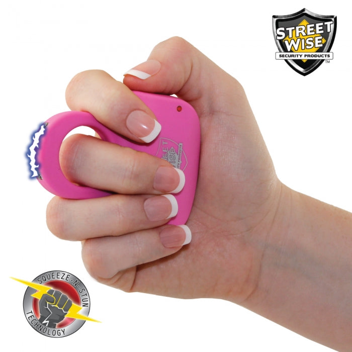Streetwise Sting Ring 18,000,000* Stun Gun Pink - prepare-and-protect-personal-protection-products