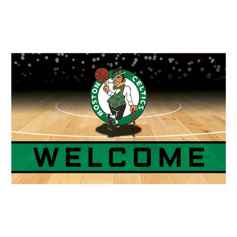 Boston Celtics Crumb Rubber Door Mat
