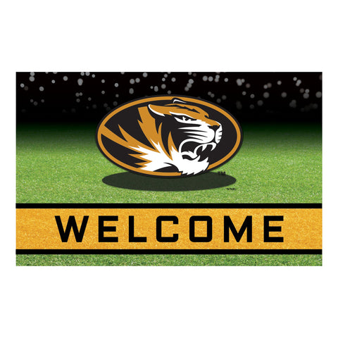 University of Missouri Crumb Rubber Door Mat
